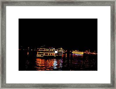 Dubai Creek 12 Framed Print
