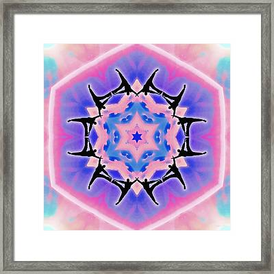 Framed Print featuring the digital art Dublife by Derek Gedney
