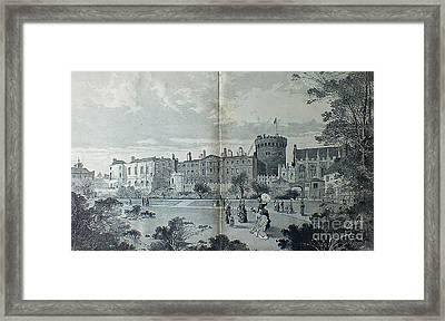 Dublin Castle 1850 Framed Print