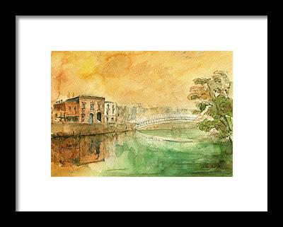 Dublin Framed Prints