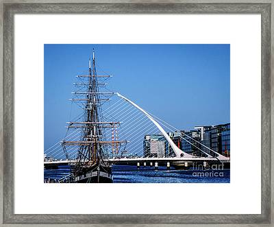 Dublins Three Icons Framed Print by Lexa Harpell