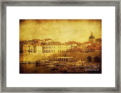 Dubrovnik Framed Print by Andrew Paranavitana