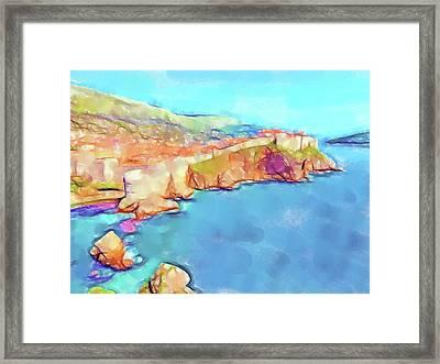 Dubrovnik Iv Framed Print