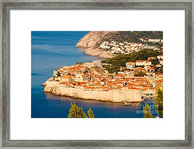 Dubrovnik Old City Framed Print