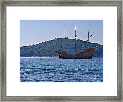 Dubrovniks Game Of Thrones  Framed Print