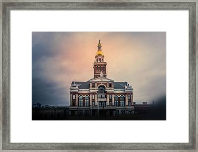 Dubuque County Courthouse, Iowa Framed Print by Art Spectrum