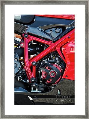 Ducati 1098r Framed Print by Tim Gainey