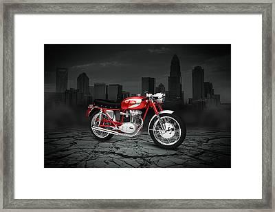 Ducati 250 Mach 1 1964 City Framed Print