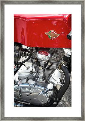 Ducati 250 Single Framed Print