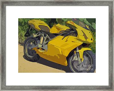 Ducati 749 Men's Cave Framed Print by Pablo Franchi