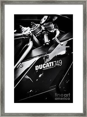 Ducati 749 Testastretta Framed Print