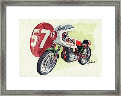 Ducati Classic Racer Framed Print