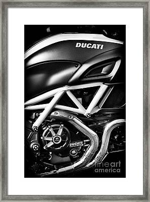 Ducati Monster Framed Print