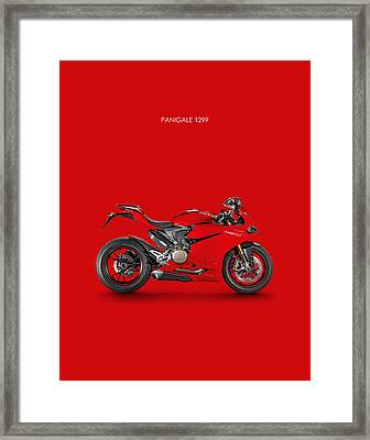 Ducati Panigale 1299 Framed Print
