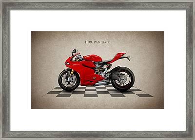 Ducati Panigale Framed Print by Mark Rogan
