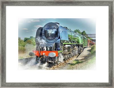 Duchess At Butterley Station Framed Print by David Birchall