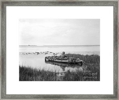 Duck Hunting, C.1920s Framed Print by H. Armstrong Roberts/ClassicStock