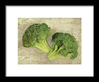 Broccoli Framed Prints