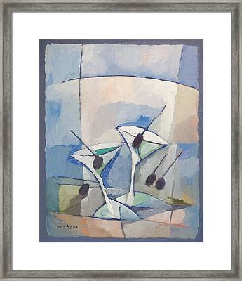 Due Martini Framed Print by Lutz Baar