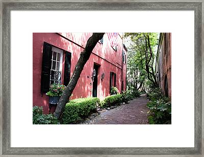 Dueler's Alley Framed Print