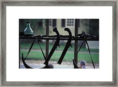 Dueling Pistols Framed Print