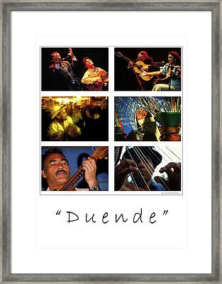 Duende - Feeling Framed Print by Michael Mogensen