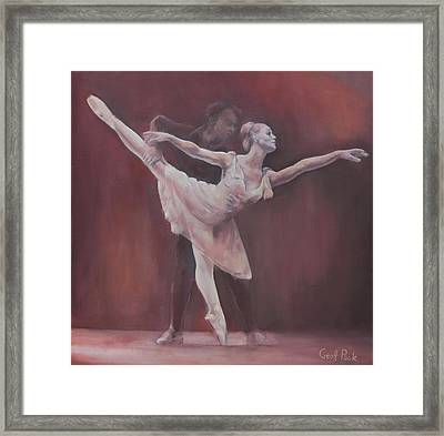 Duet Framed Print by Geoff Poole