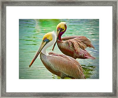 Duets Framed Print by Judy Kay