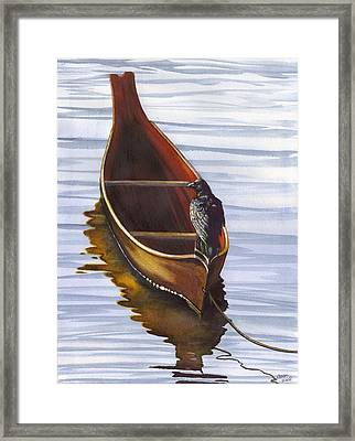 Dugout Framed Print by Catherine G McElroy