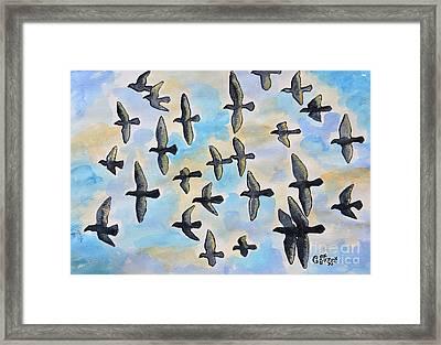 Duif's Doves Framed Print