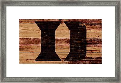 Duke 4a Framed Print by Brian Reaves