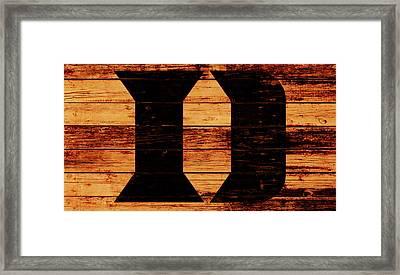 Duke 4b Framed Print by Brian Reaves