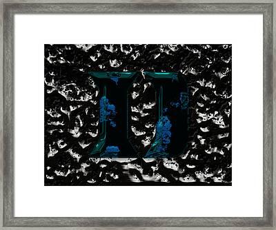 Duke Blue Devils 1a Framed Print