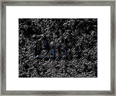 Duke Blue Devils 1c Framed Print