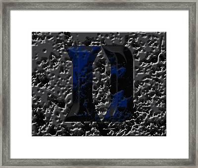 Duke Blue Devils 1e Framed Print