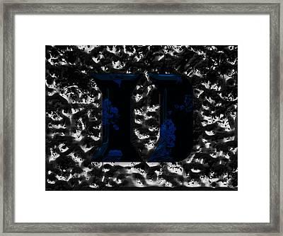Duke Blue Devils  Framed Print