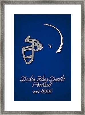 Duke Blue Devils Framed Print by Joe Hamilton