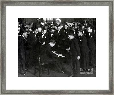 Duke Ellington And Cotton Club Framed Print by Science Source