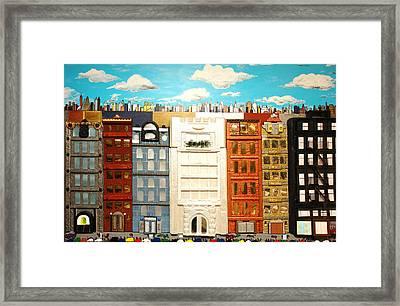 Duke Ellington Boulevard Framed Print