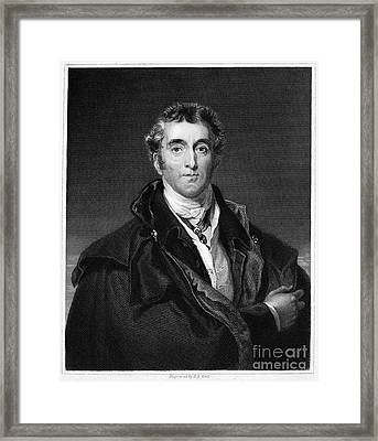 Duke Of Wellington Framed Print by Granger