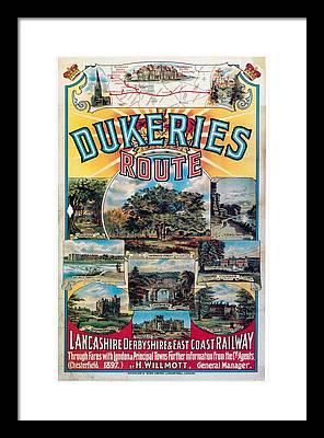 Nottinghamshire Framed Prints