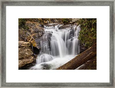 Dukes Creek Falls Framed Print