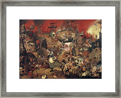 Dull Gret Framed Print by Pieter the Elder Bruegel