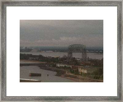 Duluth Mn Framed Print by Ana  Conway
