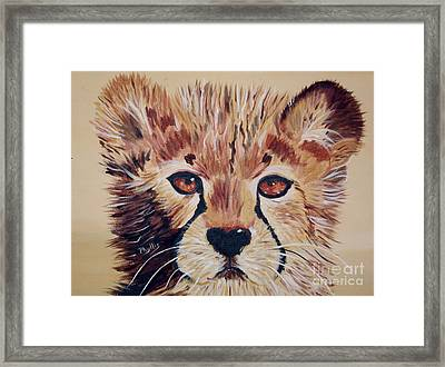 Framed Print featuring the painting Duma by Phyllis Kaltenbach