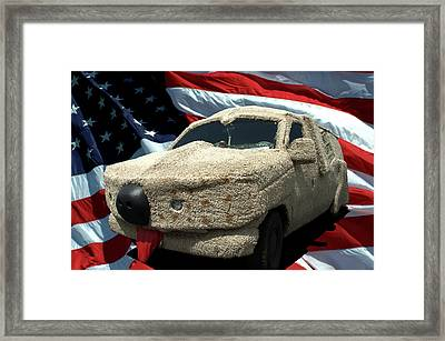 Dumb And Dumber Vehicle Replica Framed Print by Tim McCullough