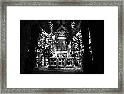 Dumbledores Study Framed Print by David Lee Thompson