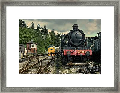 Dumbleton Hall At Buckfastleigh  Framed Print