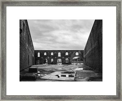 Dumbo View Circa 2003 Framed Print by Stan  Magnan