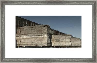Dundas Railway Bridge Framed Print by Michael Rutland